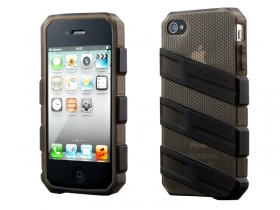 iPhone 4/4S Claw Case -Black (Translucent)