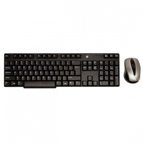 V7 Wireless 2.4 GHz Keyboard Combo