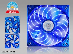 ENERMAX APOLLISH VEGAS 140MM BLUE LED FAN
