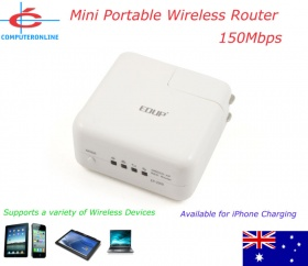 EDUP mini WiFi N 150Mbps Wireless Router, [EP2908], 1 x RJ45 Port