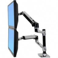 ErgotronLX Dual LCD vertical Stacking Arm ALM