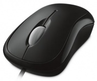 Microsoft BASIC OPTICAL MOUSE USB WINDOWS / MAC BL...