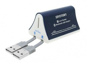 USB 2.0 Card Reader + Bluetooth