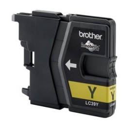 Brother YELLOW INK LC39Y for DCP-J125/J315W/J515W,...