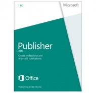 Microsoft Publisher 2013 32-bit/x64 English DVD