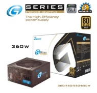 360W Seasonic G series PSU 80Plus