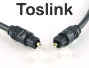 Toslink (S/PDIF) Optical Digital Audio Cable - O.D 4mm, 3 meters