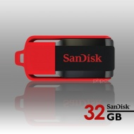 32GB Sandisk CZ52 Cruzer Switch USB Flash Drive