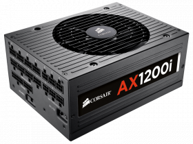 1200W Corsair AX1200i 80 PLUS Platinum Certified A...