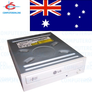 LG SATA CD DVD Writer Dual Layer Beige Burner Inte...