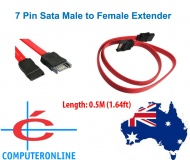 Cable: SATA Data Cable Extension SATA 7pin Male to...