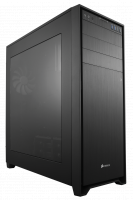 Corsair Obsidian 750D Black Full Tower Case with Window, No PSU, 3x 140mm fans, ATX/m ATX/EATX, Aluminum Faceplate, Steel Structure
