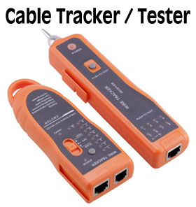 Wire Tracker for RJ11/RJ45 cables, [XQ-350]