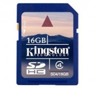 16GB Kingston SDHC SECURE DIGITAL SD MEMORY CARD