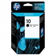 HP No 10 LARGE BLACK INK CARTRIDGE, [C4844A]