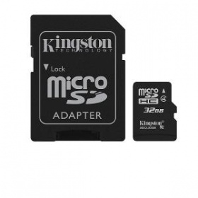 32GB Kingston microSDHC Class 4 Flash Card, [SDC4/...