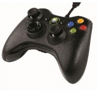 Microsoft WIRED XBOX 360 CONTROLLER - BLACK, [52A-...