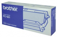 BROTHER PC501 THERMAL RIBBON 144 PAGE YIELD FOR FA...