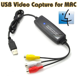 USB 2.0 Video & Audio Capture Adapter for Mac ...