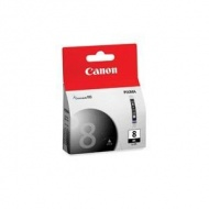 Canon CLI8BK, Photo Black Ink for PIXMA iP4200, iP4300, iP5200, iP5200r, iP5300,MP500, MP530, MP600, MP600R, MP800, MP800R, MP810, MP830