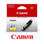 Ink Compatible For Canon CLI-651Y