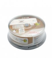 Ritek 8X DVD+R Dual Layer : 8.5GB 25pc Inkjet Whit...