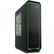 Antec Nineteen-Hundred Ultra Tower, Green Trim. 2x ATX PSU Support. USB 3.0 &2.0 x2, 6x 120mm FDB Fans, 17 Drive Bays, 9x Expansion Slots,