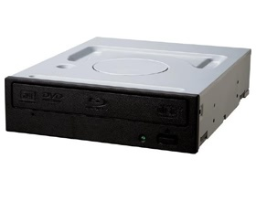 Pioneer BDR-209DBKS Black 15X Blu-Ray Writer Drive, SATA, OEM, including Cyberlink BD Media Suite software