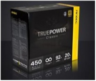 450W Antec True Power Classic. 80Plus Gold. 92% Ef...