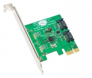 2 Port PCI-E Sata III