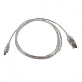 USB 2 AM to Firewire 4pin Cable