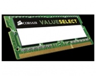 8GB Corsair (1x8GB) DDR3 1600MHz Value Select SODIMM 11-11-11-28 204-pin, Low Voltage 1.35V, Lifetime warranty