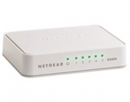 NETGEAR GS205 5PORT UNMANAGED SWITCH, GbE(5), DESK...