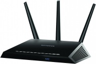 Netgear R7000 AC1900 Nighthawk Smart Wifi Router,802.11ac Dual Band Gigabit,AC1900Wifi-600+1300Mbps speeds,1GHz Dual Core Processor,100%Faster for mobile devices