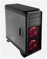 Corsair Graphite 760T Black Full Tower Case, features an industry-first fully windowed side panel