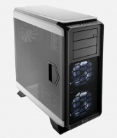 Corsair Graphite 760T Black&White Full Tower Case, features an industry-first fully windowed side panel