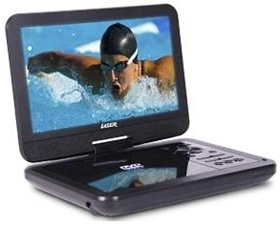 "LASER DVD Player Portable 10"""" Wide Scre..."