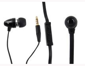 Shintaro Stereo Earphone & Mic Flat Cbl