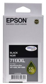Epson 711XXL CAPACITY BLACK INK CARTRIDGE FOR WP-4...