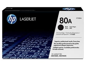 HP 80A BLACK TONER 2,700 PAGE YIELD FOR M401