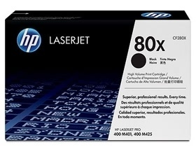 HP 80X BLACK TONER 6,900 PAGE YIELD FOR M401