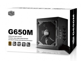 650W COOLER MASTER GM SERIES 80+ BRONZE