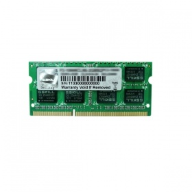 8GB G.Skill DDR3-1600 Single Channel SODIMM [SL] F...