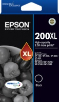 Epson 200XL High Cap DURABrite Ultra Black ink