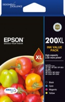 Epson 200XL HIGH DURABRITE ULTRA 4 INK VALUE PK