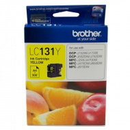 Brother LC131Y, YLLW INK 300 PAGES DCP-J152W J172W...