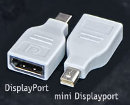 Converter: Mini DisplayPort (Male) to DisplayPort ...