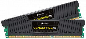 16GB Corsair (2x8GB) DDR3 1866MHz Vengeance Low Profile DIMM 10-11-10-30 2x240-pin, Lifetime warranty