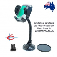 Universal Car Mount Phone Holder for MP4/MP3/PDA/Mobile with Photo Frame