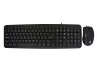 Aywun KM-M29 Wired Multimedia Keyboard & Mouse...